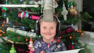 8-year-old boy from Newcastle records charity single for Cumbria flood fund