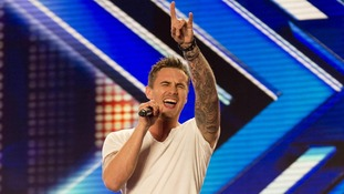 oseph Whelan as he performs during the Manchester auditions for this year's X Factor,