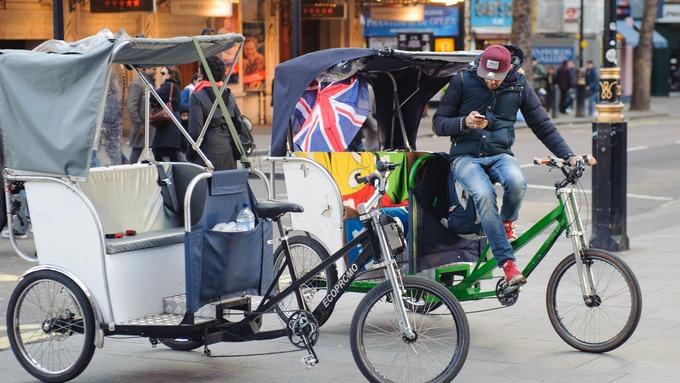 Cycle rickshaws