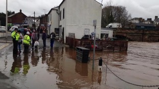 Flooding in Appleby