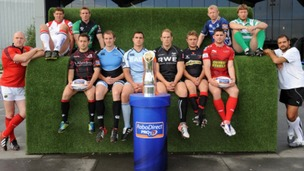 The PRO12 captains
