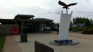 National Memorial Arboretum in Alrewas prepares for Service of Commemmoration