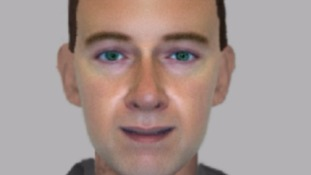 Efit image of a man officers want to trace.