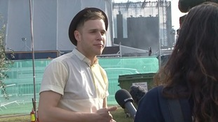 Olly Murs back on home turf