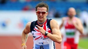Great Britain's Richard Whitehead.
