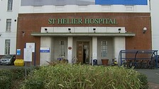 St Helier Hospital, south London