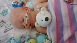 Baby's miraculous recovery after life support machine turned off