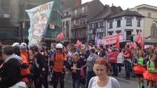 Cardiff's Mardi Gras parade