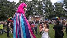 Leicester Pride gets underway