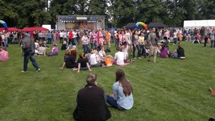 Leicester Pride at Victoria Park