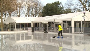 Winter wonderland forced to close because of mild weather