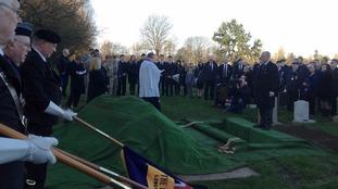 The service was held at Gorleston crematorium.