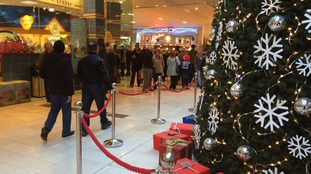 The Intu centre has had a busy 48 hours