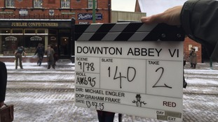 Downton Abbey at Beamish for final episode