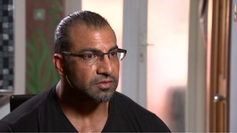 Muslim dad stopped from going to US tells of family 'devastation'