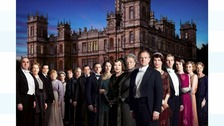 Cast of Downton Abbey and Highclere Castle