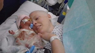 Heidi Loughlin: Cancer mum who lost eight-day-old child thanks public for support