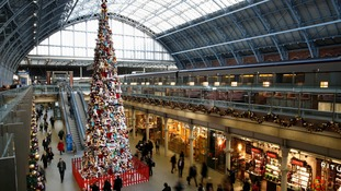 Giant Disney tree at St Pancras splits opinion