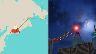 How to track Santa online and in the sky at Christmas