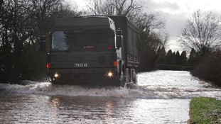 Flood alerts are in place in the West Midlands