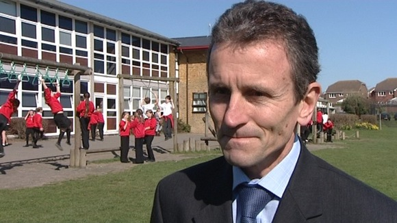 Ocklynge Junior School head teacher Mark Trott