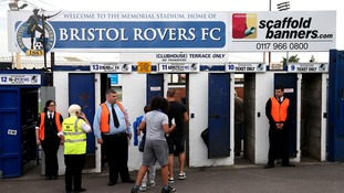 Bristol rivals offer to clean up stadium graffiti