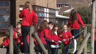 Playtime at Ocklynge Junior School
