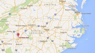 ... at Northlake Mall in Charlotte, North Carolina Credit: Google Maps