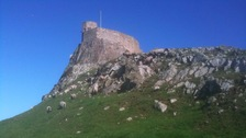 Lindisfarne Castle on Holy Island will be powered by solar panels
