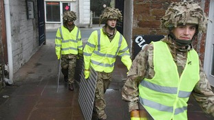 Cumbria flooding: Army deployed and emergency Cobra meeting amid more weather warnings on Christmas Day