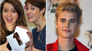 Justin Bieber congratulates NHS Choir after they beat him to Christmas number one spot