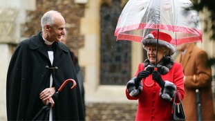 Royals attend Christmas Day church service at Sandringham