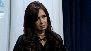 Argentine President Cristina Fernandez de Kirchner has made a popular stand on the Falkland's issue