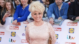 Barbara Windsor at the ITV Pride of Britain Awards earlier this year