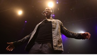 Usher at the iTunes Festival.