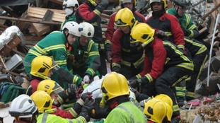 The rescue operation