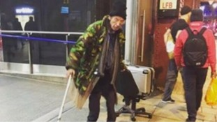 Man photographed at Waterloo station on Dec 21st is not DJ Derek