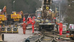 Network Rail boss says lessons have been learnt over Christmas engineering work disruption