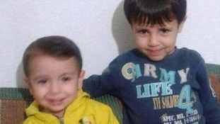 Alan and Ghaleb Kurdi both died during a crossing between Turkey and Greece.