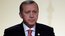 Turkish President Tayyip Erdogan said the comments were a 'clear provocation'
