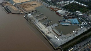 Alexandra Dock in Hull