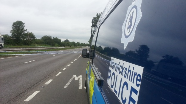 Significant police presence on the A444 near Nuneaton