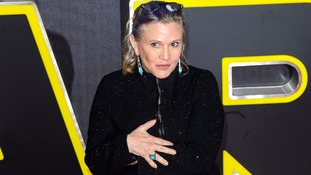 Star Wars actress Carrie Fisher hits out at body shamers over Force Awakens appearance
