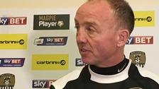 Notts County interim manager Mick Halsall