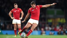 Dan Biggar in action