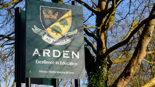 Arden Academy is in Knowle