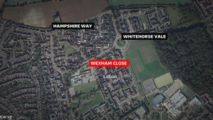 The man was shot in Wexham Close.