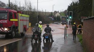 Flooding at Exton
