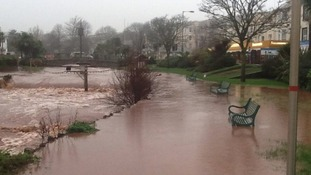We've received lots of pictures from you showing the effects of Storm Frank