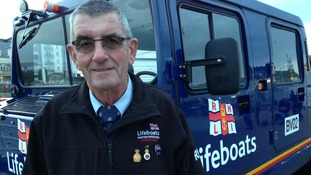 RNLI volunteer recognised in New Year's Honours list